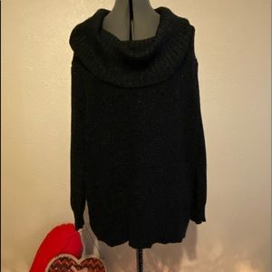Michael Kors black with silver sheens  sweater